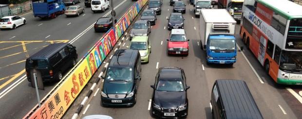 Driving in Hong Kong